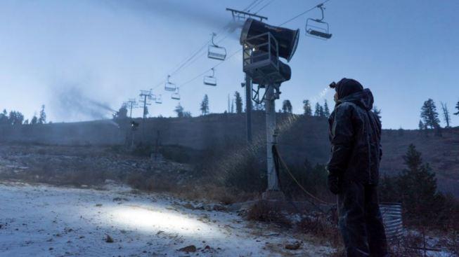 Lake Tahoe Resorts Fire Up Snowmaking Machines as Ski Season Nears