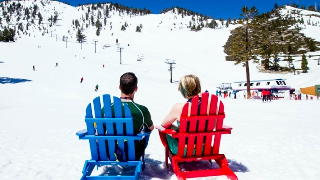 North Lake Tahoe: Spring Break Snow