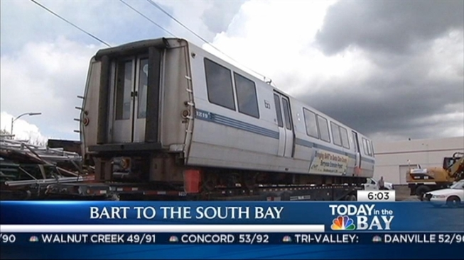 BART Service Interrupted Due to Man on Tracks