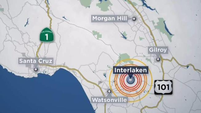 two small earthquakes rumble near gilroy usgs