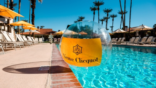 New Veuve Clicquot 'Après Swim' Fun at La Quinta