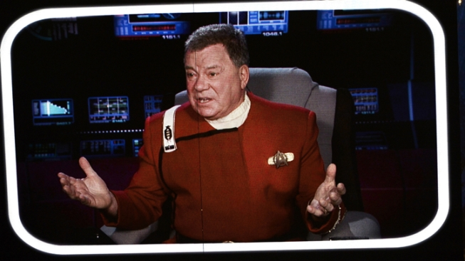 William Shatner a Bobsled Fan After Quinn's Broken Door