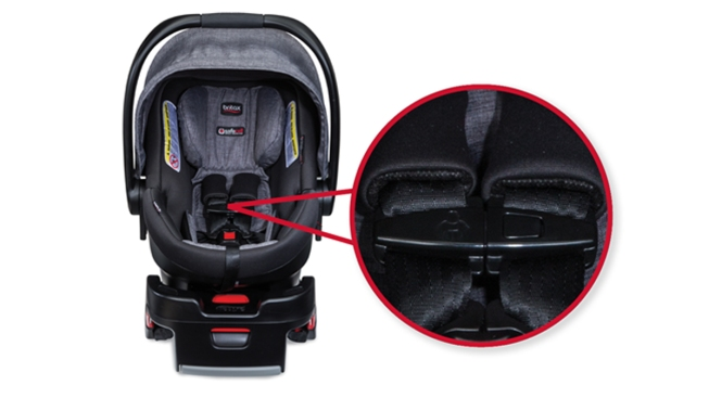 Britax recalls thousands of vehicle seats due to choking hazard
