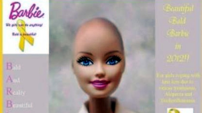 SoCal Mom Campaigns for Bald Barbie