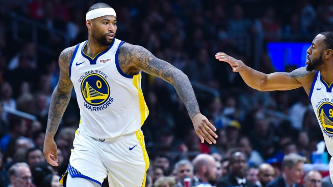 release date: 42bef 1176b Boogie Cousins Overcomes Nerves in 1st Game With Warriors ...
