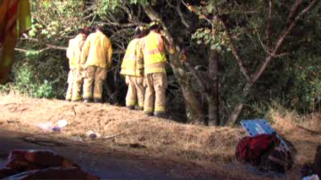 19-Year-Old Died, 15-Year-Old Injured, Driver Surrenders After Car Veers off Gulch Near Saratoga