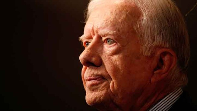 Jimmy Carter Visits San Francisco