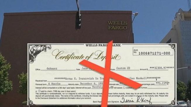 Man Finds $32,000 CD, But Bank Won\'t Cash It - NBC Bay Area