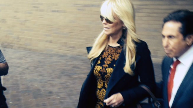 """Dina Lohan Had """"2, Well Maybe 3"""" Glasses of Pinot Grigio on Night of DWI Arrest: Court Records"""