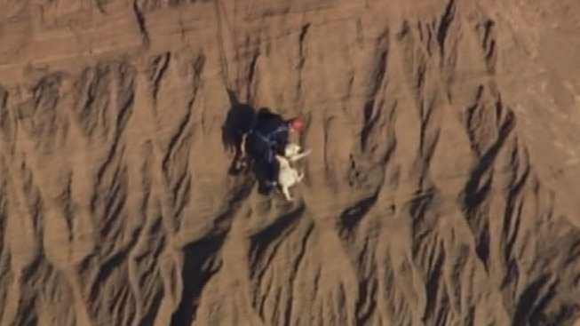 Woman, Dog Rescued From Fort Funston Cliff