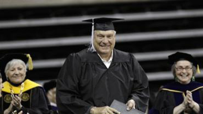Warriors Don Nelson Graduates College