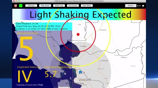 early warning system gave uc berkeley scientists 10 second alert when napa quake struck