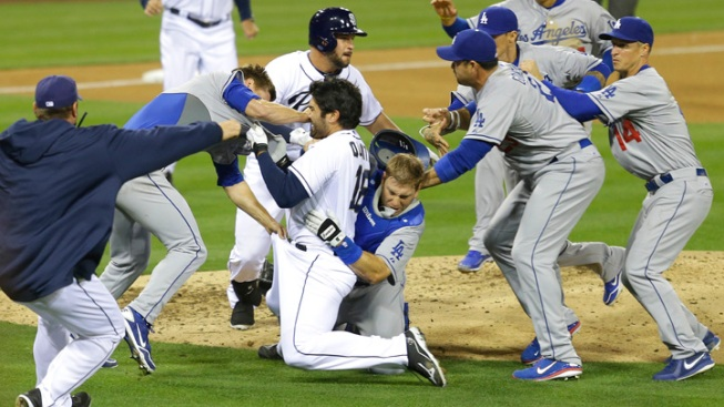 Dodgers Bring Brawl to Twitter
