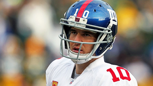 Eli Manning Misses Practice With Stomach Flu