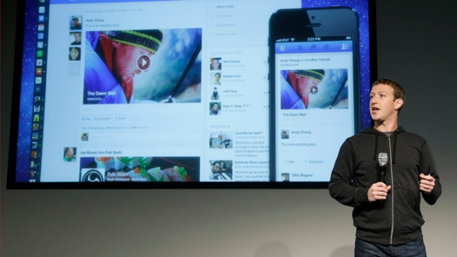 Facebook's Revamped News Feed Features Bigger Photos