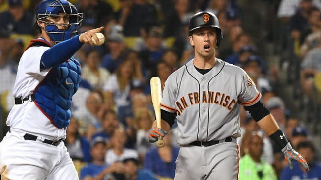 Giants on Losing End of Pitchers' Duel, Fall 3 Games Behind Dodgers