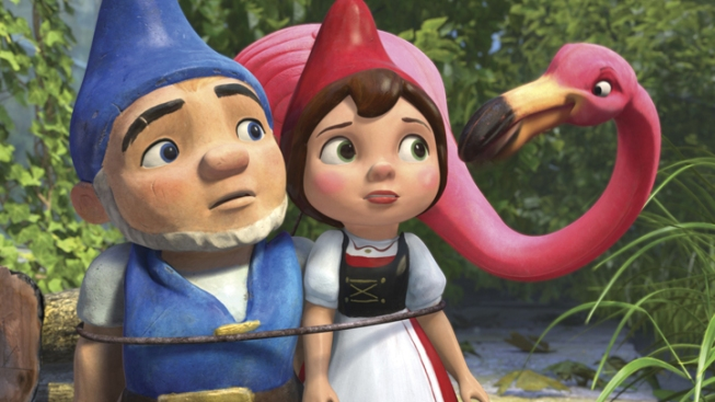 """Gnomeo & Juliet"" Wins Box Office On Oscar Weekend"