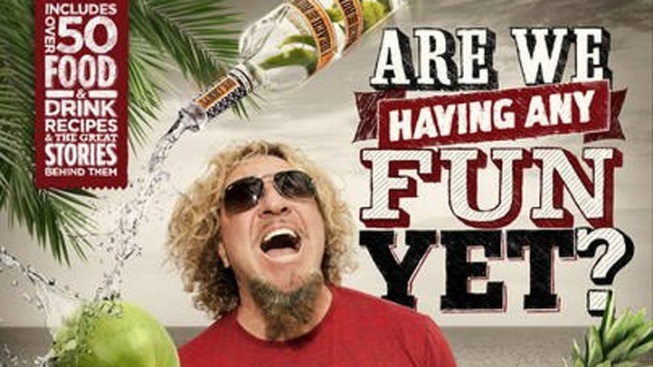 Sammy Hagar Prepares 'Cooking and Partying Handbook'