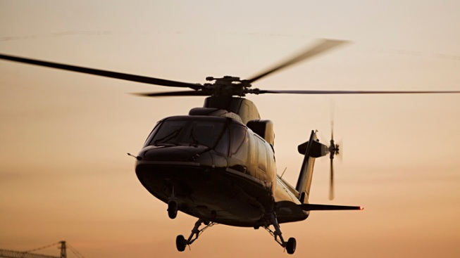 Low-Flying Helicopters Testing for Radiation