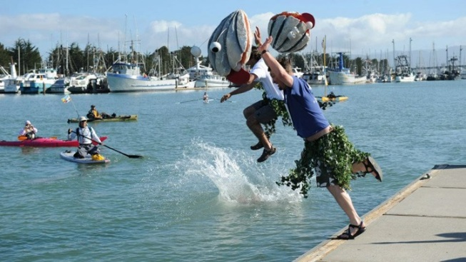Humboldt Bay High Jinks: The Perilous Plunge