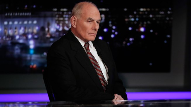 Trump's immigration positions 'uninformed', says his chief of staff John Kelly