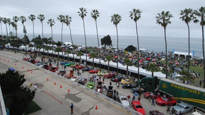 Stroll Among Sublime Automobiles, in La Jolla