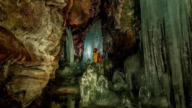 Cool: Tours Open at Crystal Ice Cave