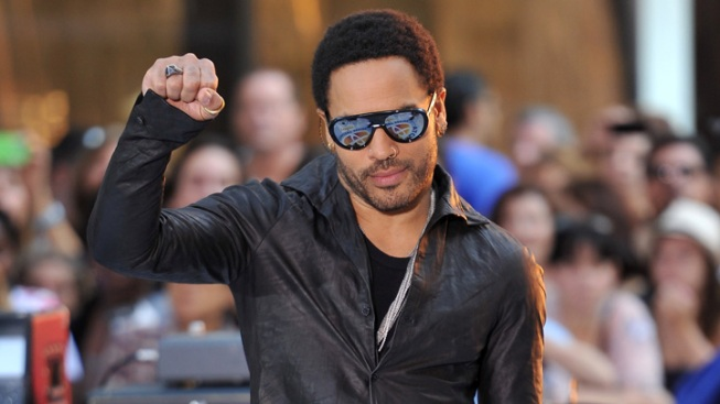France Honors Lenny Kravitz With Highest Award