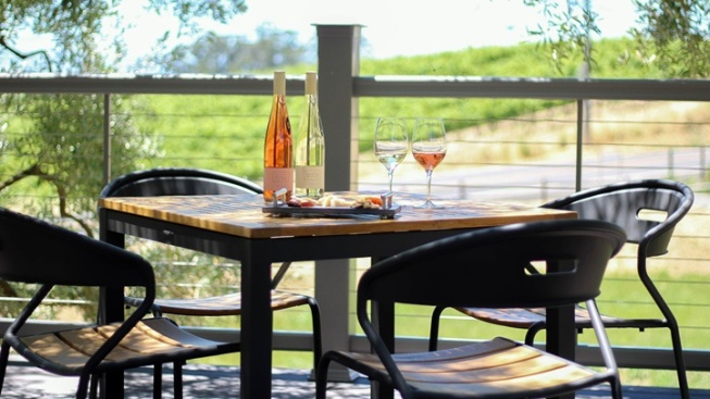 Liana Estates: New Outdoor Tasting Deck
