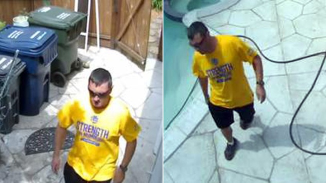 Prowler in Warriors Shirt Caught on Camera in Los Altos Backyard: Police