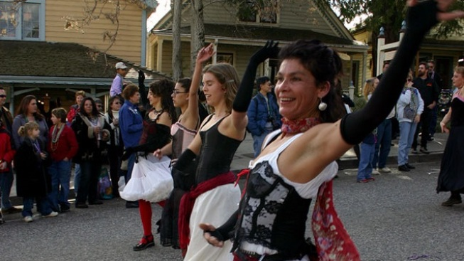 Nevada City's Merry Mardi Gras