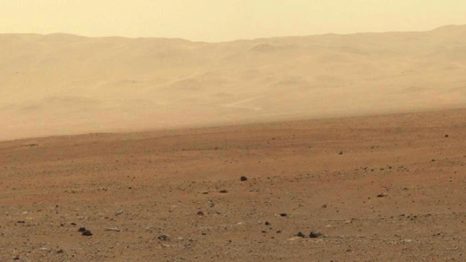 NASA's Curiosity Landing Footage
