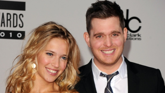Crooner Michael Buble Weds, Gets Robbed