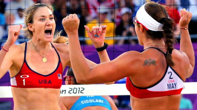 Walsh, May Treanor Advance to Gold Medal Match