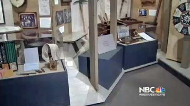 Oakland History Museum Cracks Theft Case