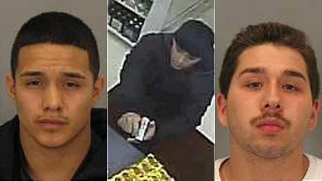 San Jose Police Scoop Up Alleged 'Neopolitan Bandits'