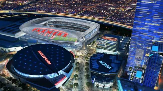 NFL Stadium Plan Moves Forward in LA