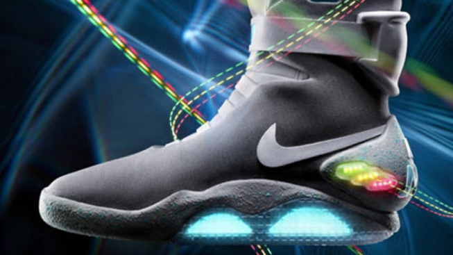'Back to the Future' Nikes Unveiled