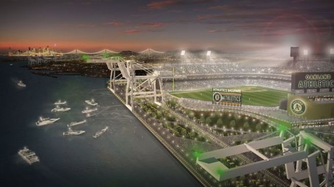 Plan for Waterfront Baseball Stadium in Oakland Advances