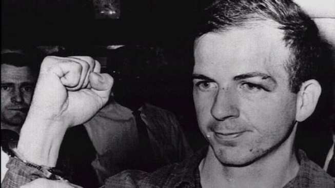 Oswald Interrogated, Charged With 2 Murders