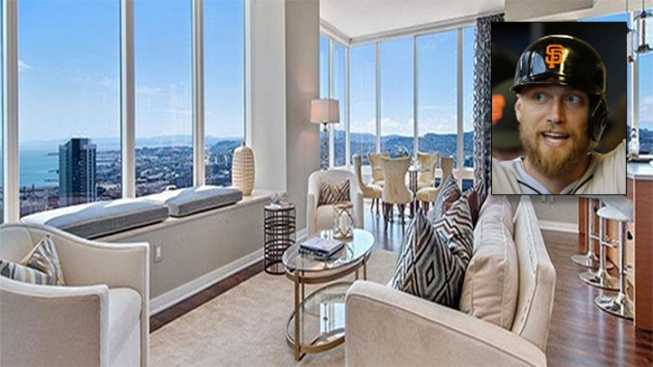 Giants' Hunter Pence Spends $4.25 Million on San Francisco Condo