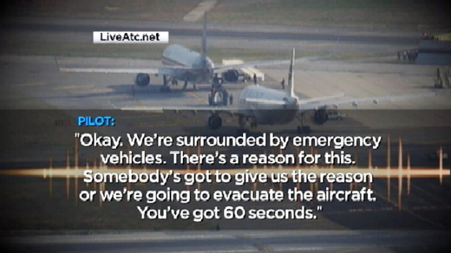 Airplanes Cleared After Hijack Threats - NBC Bay Area