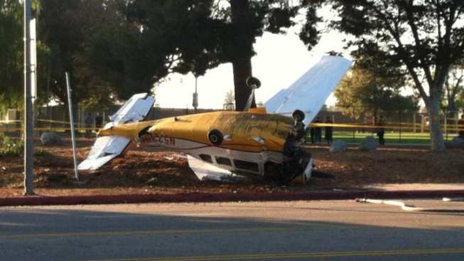 Small Plane From Novato Crashes in SoCal