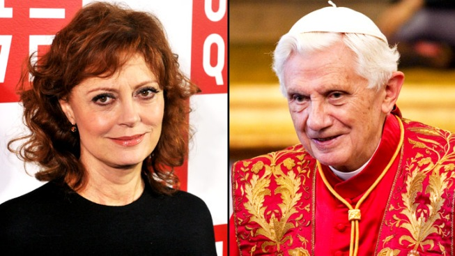 "Susan Sarandon Calls the Pope a ""Nazi"""