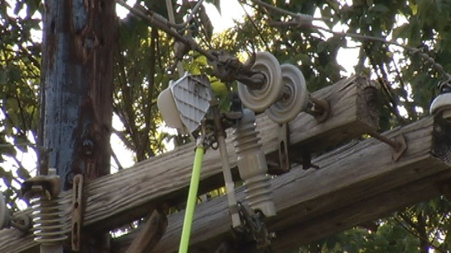 Power Back for Thousands After Sunnyvale Car Accident