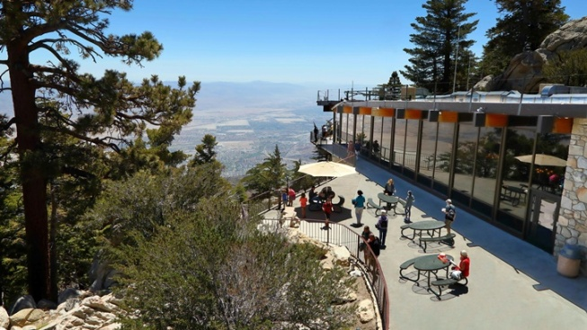 Palm Springs Tram: Solar Eclipse Viewing