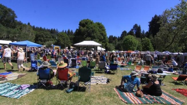The Treeful, Gleeful Redwood Mountain Faire Returns