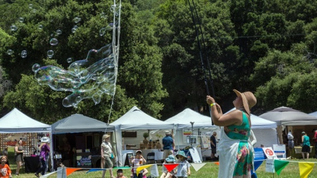 It's a High-Country Hoedown at Redwood Mountain Faire