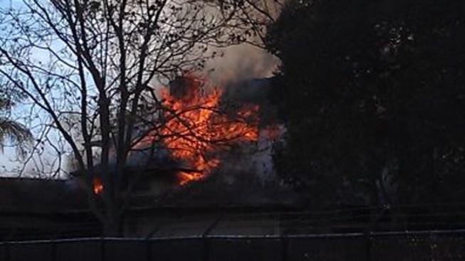 SJ's Kelley House Damaged by Fire