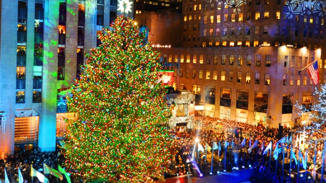 Rock Center's 80-Foot Tree Ready to Shine